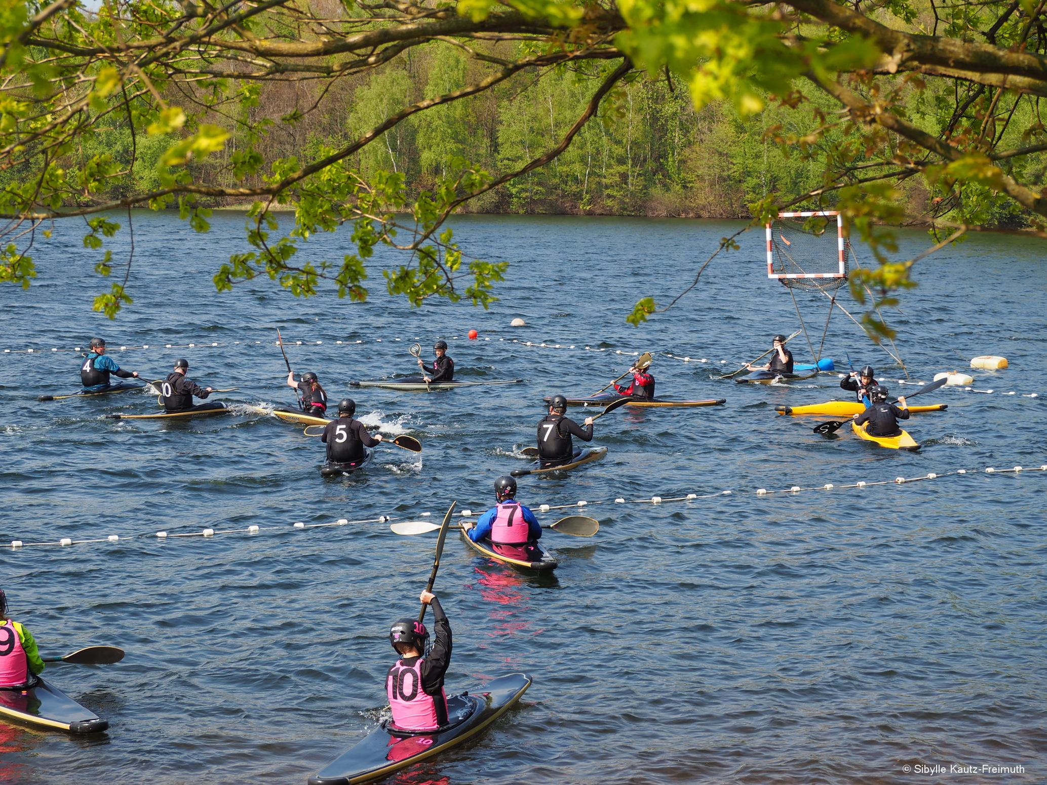 Sportlicher 1. Mai auf dem Liblarer See