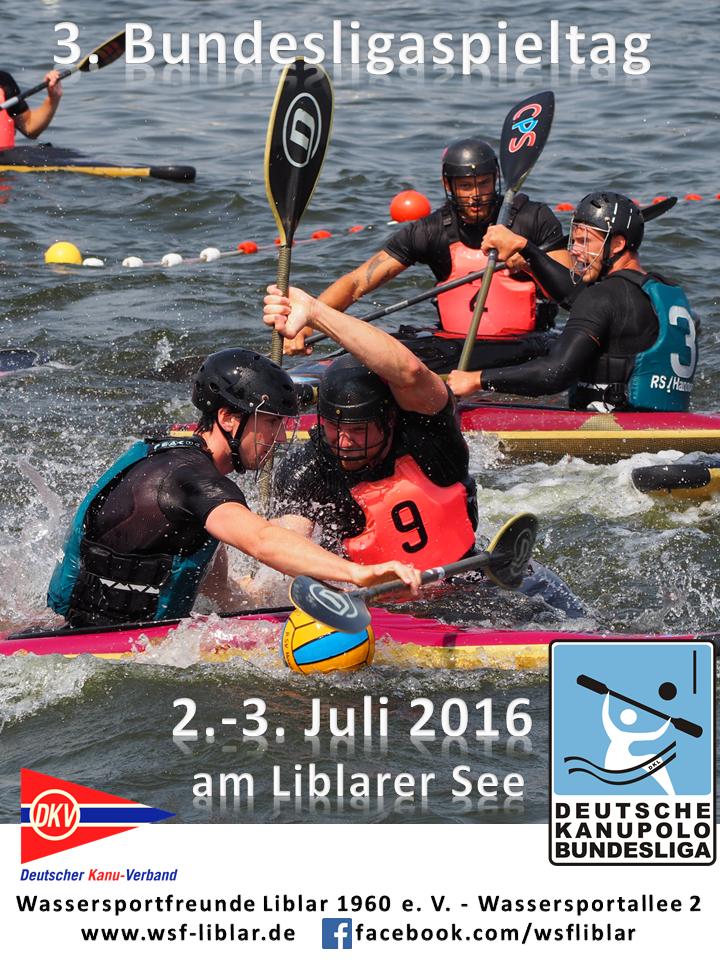 Kanupolo Saison 2016 am Liblarer See